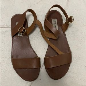 Steven madden brown sandals